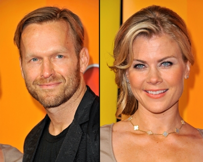 Bob Harper, Alison Sweeney attend the 2011 NBC Upfront at The Hilton Hotel, NYC, on May 16, 2011