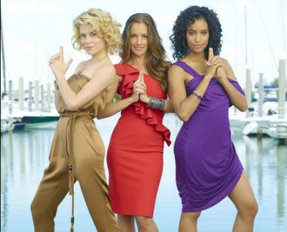 "Rachael Taylor, Minka Kelly and Annie Ilonzeh in ABC's ""Charlie's Angels"""