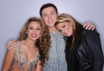"""American Idol"" final 3 - Haley Reinhart, Scotty McCreery and Lauren Alaina"