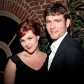 Sara Rue and Kevin Price attend &#8216;Project Runway for Project Angel Food&#8217; benefit and season finale party at Eleven NightClub in West Hollywood on April 22, 2010