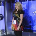 Lauren Alaina, 15, from Rosville, Georgia, performs in front of the judges during Season 10 of &#8220;American Idol&#8221;