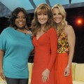Jane Seymour with the ladies of &#8220;The View,&#8221; NYC, May 27, 2011