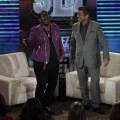 Randy Jackson and George Lopez as seen on &#8220;Lopez Tonight&#8221; on May 26, 2011