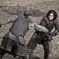 Jon Snow (Kit Harrington) trains at The Wall, &#8220;Game of Thrones,&#8221; HBO, 2011