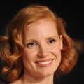 Jessica Chastain attends the &#8220;The Tree Of Life&#8221; press conference during the 64th Annual Cannes Film Festival at Palais des Festivals on May 16, 2011
