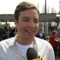 Jimmy Fallon Celebrates His 'Tram-Tastic' New Gig At Universal Studios Hollywood