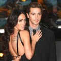 "Megan Fox and Shia LaBeouf step out at the UK premiere of ""Transformers: Revenge of the Fallen"" at the Odeon Leicester Square in London on June 15, 2009"