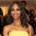 Zoe Saldana Struts Her Style At The 2011 Costume Institute Gala