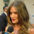 Rosie Huntington-Whiteley chats with Access Hollywood at Spike TV's 2011 Guys Choice Awards in Los Angeles on June 4, 2011