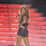 Beyonce performs during the &#8220;American Idol&#8221; Grand Finale at the Nokia Theatre, Los Angeles, May 25, 2011