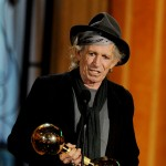 Keith Richards accepts the Brass Balls award at Spike TV's 5th annual 'Guys Choice' Awards at Sony Pictures Studios in Culver City, Calif., on June 4, 2011