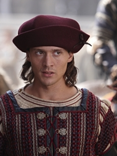 "David Oakes as Juan Borgia in ""The Borgias,"" Showtime, 2011"