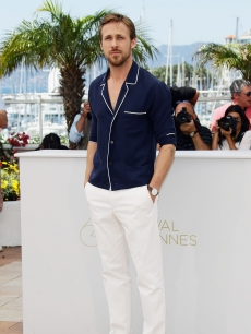 "Ryan Gosling looking dapper at the ""Drive"" photocall during the 64th Annual Cannes Film Festival at Palais des Festivals in Cannes, France on May 20, 2011"
