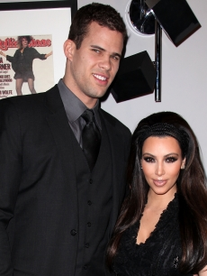 Kris Humphries and Kim Kardashian are spotted at Ciroc Vodka presents exclusive NBA All-Star weekend party hosted by Kris Humphries at Rolling Stone Restaurant & Lounge in Los Angeles, Calif. on February 20, 2011