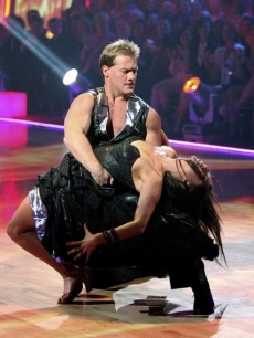 "Chris Jericho and Cheryl Burke prove why they lasted so long in the competition as they return to dance in the ""Dancing"" season finale, May 24, 2011"