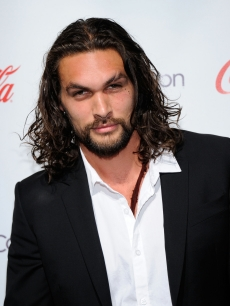 Jason Momoa, recipient of the Male Rising Star of 2011 award, arrives at the CinemaCon awards ceremony at the Pure Nightclub at Caesars Palace during CinemaCon, the official convention of the National Association of Theatre Owners, Las Vegas, March 31, 2011