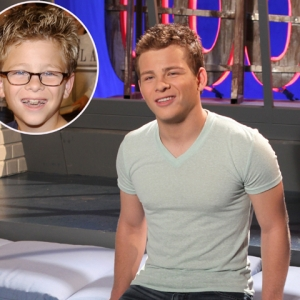 Jonathan Lipnicki at Access Hollywood Live on November 17, 2010
