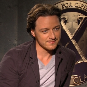 James McAvoy Takes On 'X-Men: First Class'