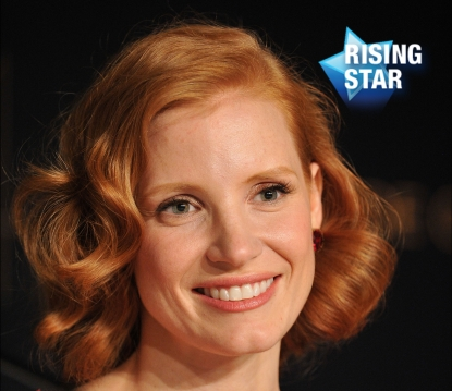 Rising Star: Jessica Chastain