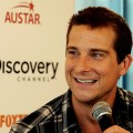 "Bear Grylls, star ""Man vs. Wild"" speaks during a press conference in Sydney, Australia, on March 4, 2011"