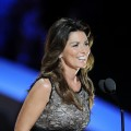 Shania Twain speaks on stage at the 2011 CMT Music Awards at the Bridgestone Arena in Nashville on June 8, 2011