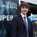 "Joel Courtney steps out at the premiere of ""Super 8"" at Regency Village Theatre in Westwood, Calif. on June 8, 2011"