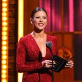 Catherine Zeta-Jones dazzles on stage during the 65th Annual Tony Awards at the Beacon Theatre in New York City on June 12, 2011