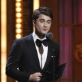 Daniel Radcliffe presents the Tony Award for Best Performance by an Actress in a Leading Role in a Play during the 65th Annual Tony Awards in New York City on June 12, 2011 