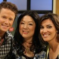 Margaret Cho visits Access Hollywood Live with Billy Bush and Kit Hoover on June 13, 2011