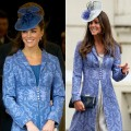 Kate Middleton wears the same dress in 2011 and 2009