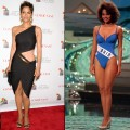 Halle Berry in 2011/Halle Berry during the Miss USA pageant in 1986
