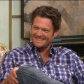 Blake Shelton stops by Access Hollywood Live on June 17, 2011