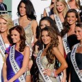 The 2011 Miss USA contestants as they arrive at the Planet Hollywood Resort & Casino in Las Vegas, Nev. on June 6, 2011