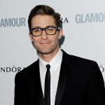 A spectacle wearing Matthew Morrison arrives at the Glamour Women of the Year Awards at Berkeley Square Gardens, London, on June 7, 2011