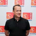 Tom Hanks poses during the 'Larry Crowne' photocall at ScreenSingapore 2011 in Singapore on June 11, 2011