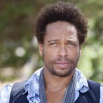 Gary Dourdan poses during a portrait session taken at Santa Eulalia village in Ibiza, Spain on June 10, 2010 