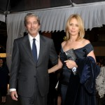 Todd Morgan and Rosanna Arquette attend 'The Artist's Museum Happening' MOCA Los Angeles Gala sponsored by Chanel Fine Jewelry cocktail reception held at MOCA Grand Avenue in Los Angeles on November 13, 2010