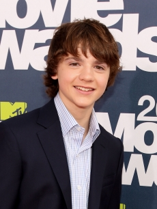 Joel Courtney arrives at the 2011 MTV Movie Awards at Universal Studios' Gibson Amphitheatre in Universal City, Calif. on June 5, 2011