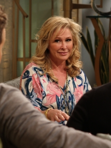 Kathy Hilton visits Access Hollywood Live on June 7, 2011