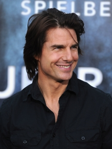 "Tom Cruise steps out at the premiere of ""Super 8"" at Regency Village Theatre in Westwood, Calif. on June 8, 2011"