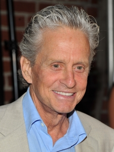 Michael Douglas steps out at The Urban Zen Stephan Weiss Apple Awards at Urban Zen in New York City on June 9, 2011
