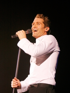 Matthew Morrison performs at Hammersmith Apollo, London, on June 13, 2011