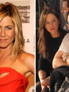 Jennifer Aniston / Heidi Bivens and Justin Theroux 