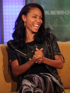 "Jada Pinkett Smith visits ""FOX & Friends"" at FOX Studios in New York City on June 14, 2011"
