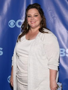 Melissa McCarthy attends the 2011 CBS Upfront at The Tent at Lincoln Center in New York City on May 18, 2011