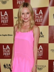 Kate Bosworth is pretty in pink at the LA Film Fest premiere of &#8216;L!fe Happens&#8217; at Regal Cinemas L.A. Live in Los Angeles on June 18, 2011