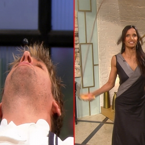 Access Hollywood Live: Padma Lakshmi & Curtis Stone's Super Human Tricks!