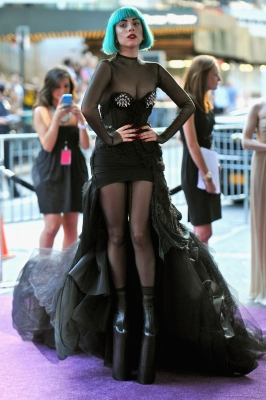 Lady Gaga attends the 2011 CFDA Fashion Awards at Alice Tully Hall, Lincoln Center, New York City, on June 6, 2011