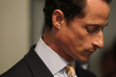 Rep. Anthony Weiner (D-NY) announces his resignation, Brooklyn, June 16, 2011