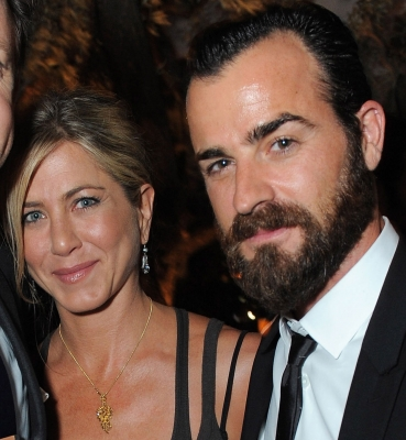 Jennifer Aniston and Justin Theroux step out together at the Movie Awards After Party Sponsored By Yoostar at Soho House in West Hollywood, Calif. on June 5, 2011 